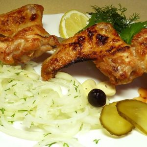 Chicken wings Kebab